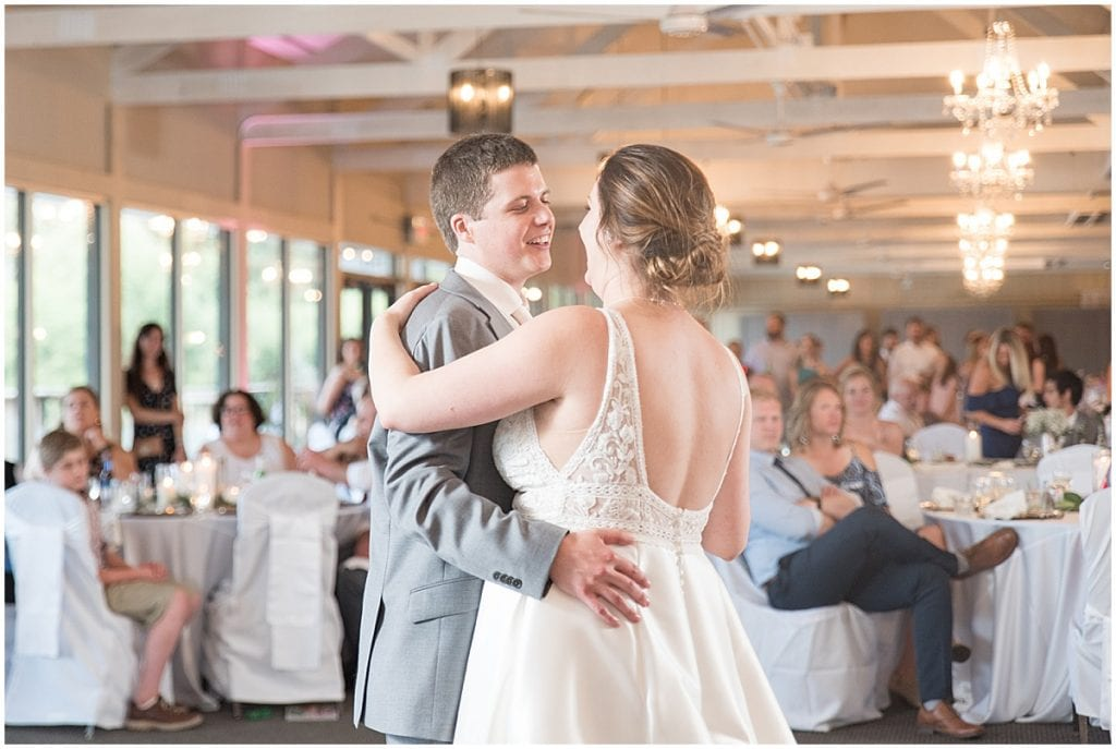 A wedding at The Willows on Westfield in Indianapolis
