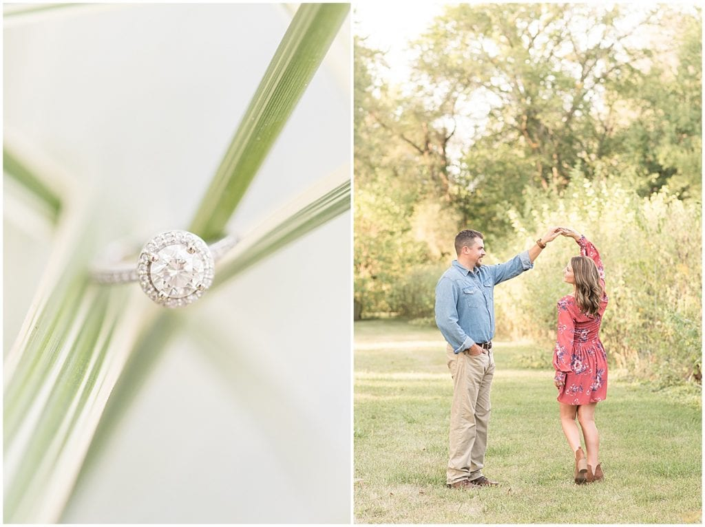 Engagement Photos in Remington, Indiana