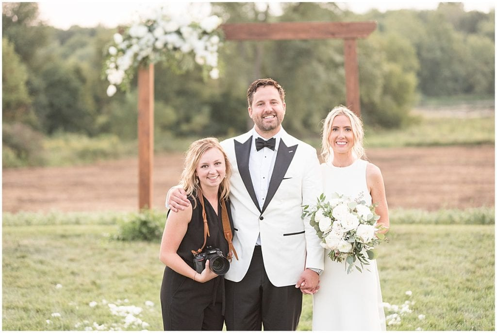 Victoria Rayburn Photography with bride and groom