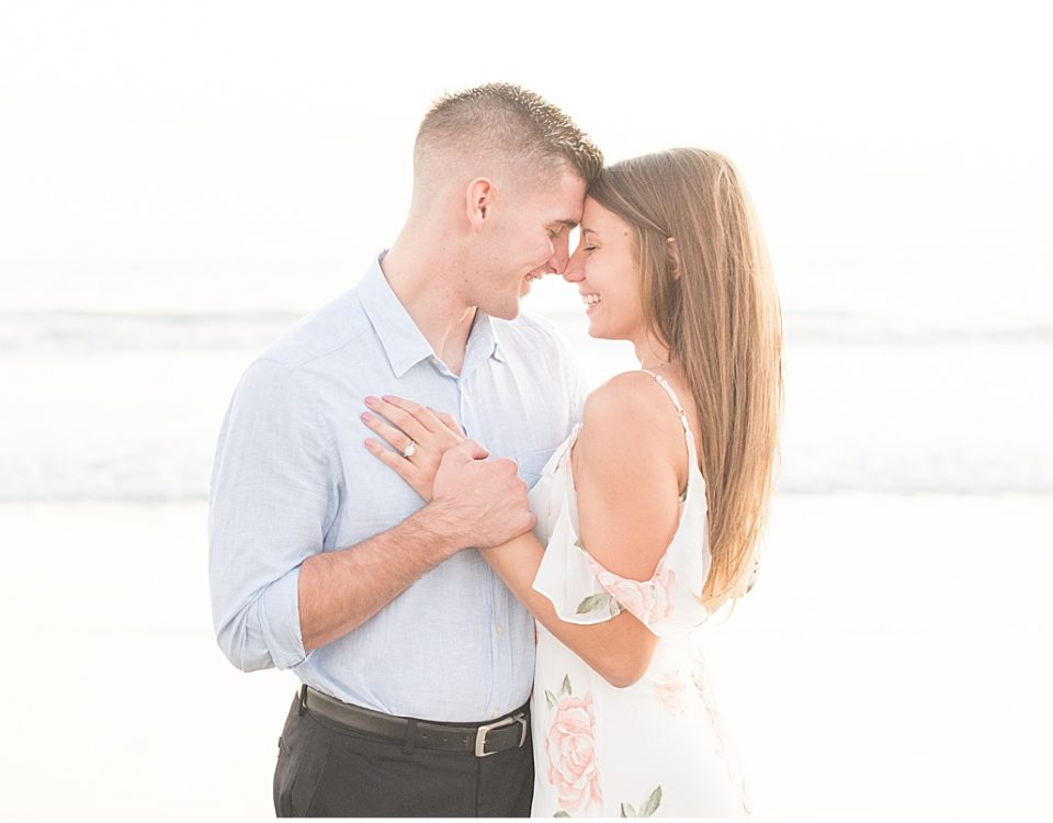 Coronado Beach engagement photos in San Diego, California