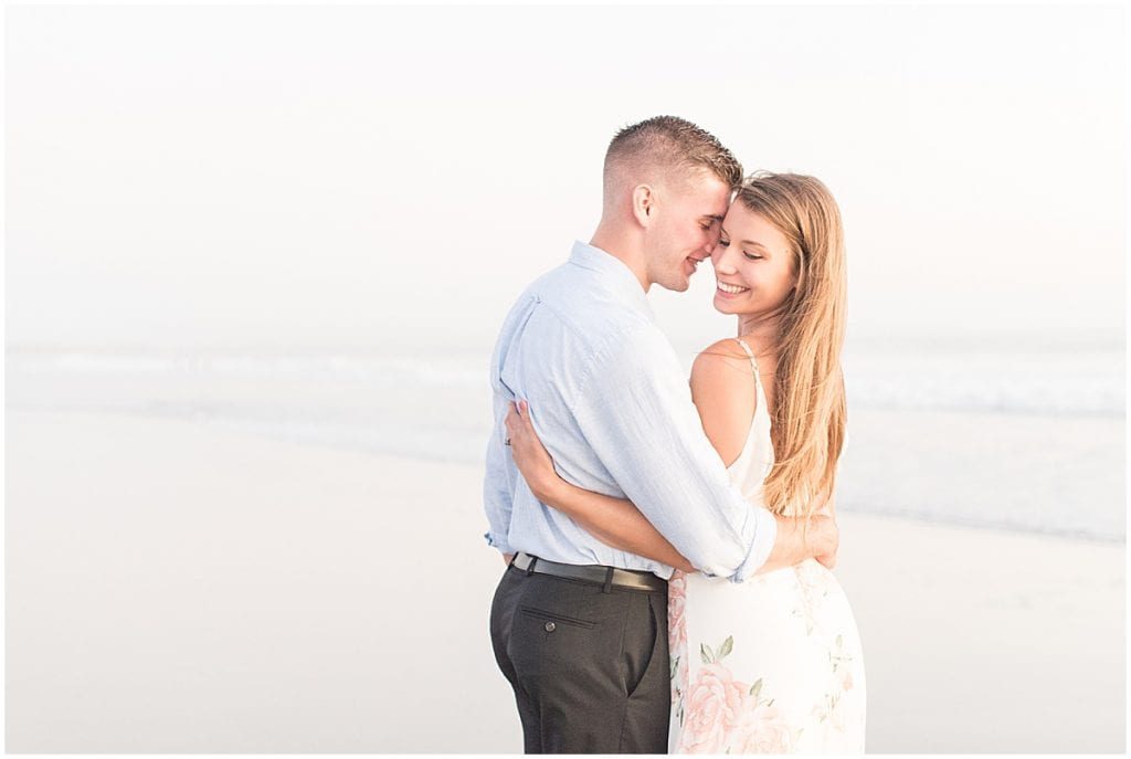 Coronado Beach engagement photos in San Diego, California