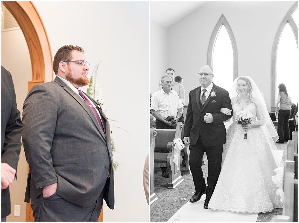 Wedding at Aberdeen Manor in Valparaiso, Indiana