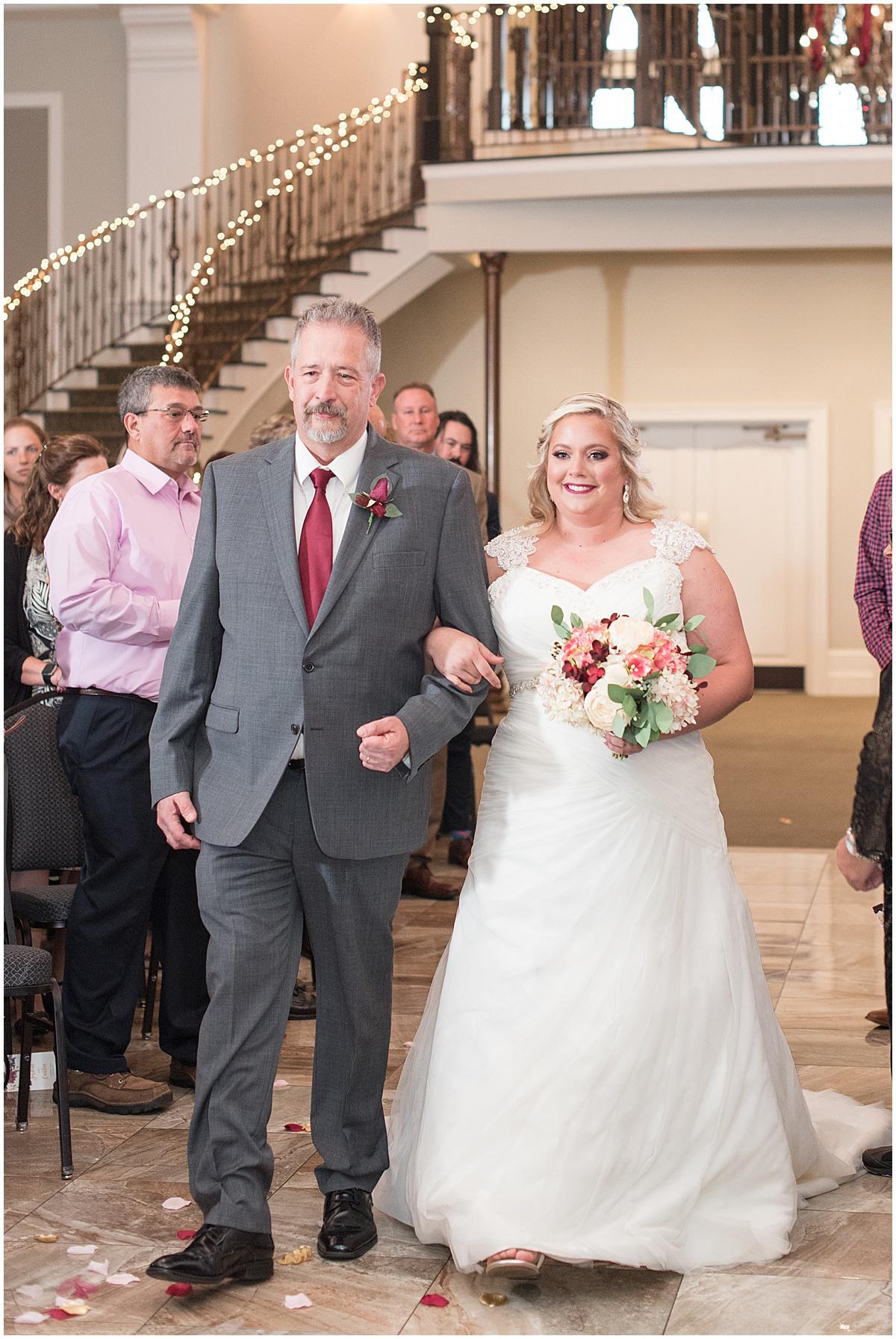 Wedding at Bel Air Events in Kokomo, Indiana