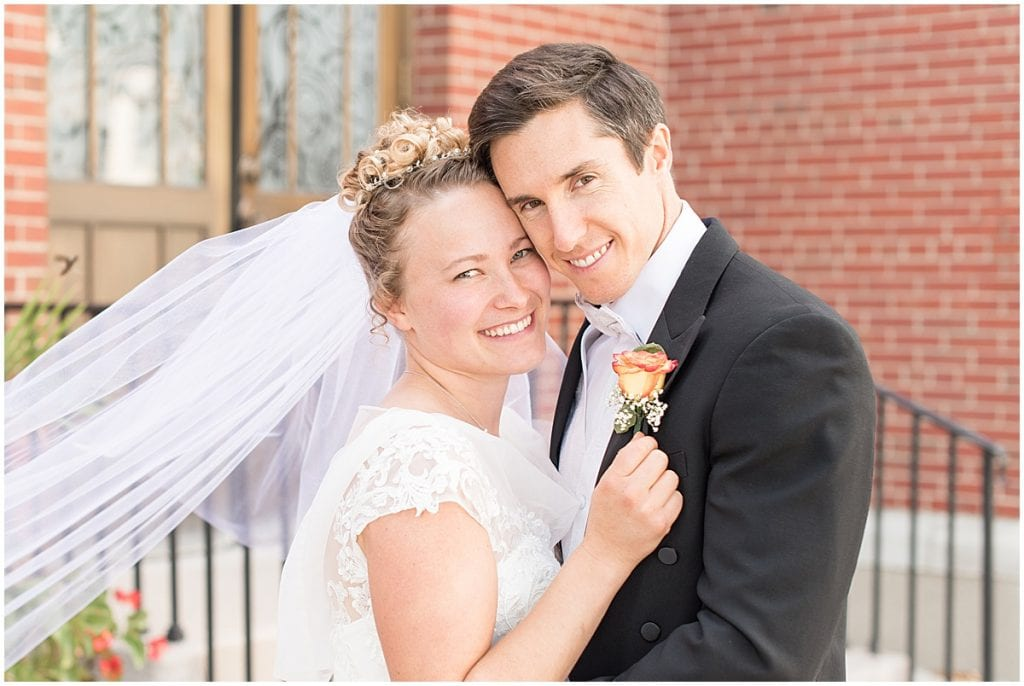 Wedding at Duncan Hall in Lafayette, Indiana