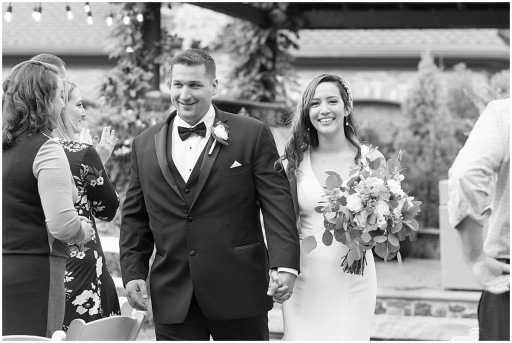Backyard Wedding in Demotte, Indiana