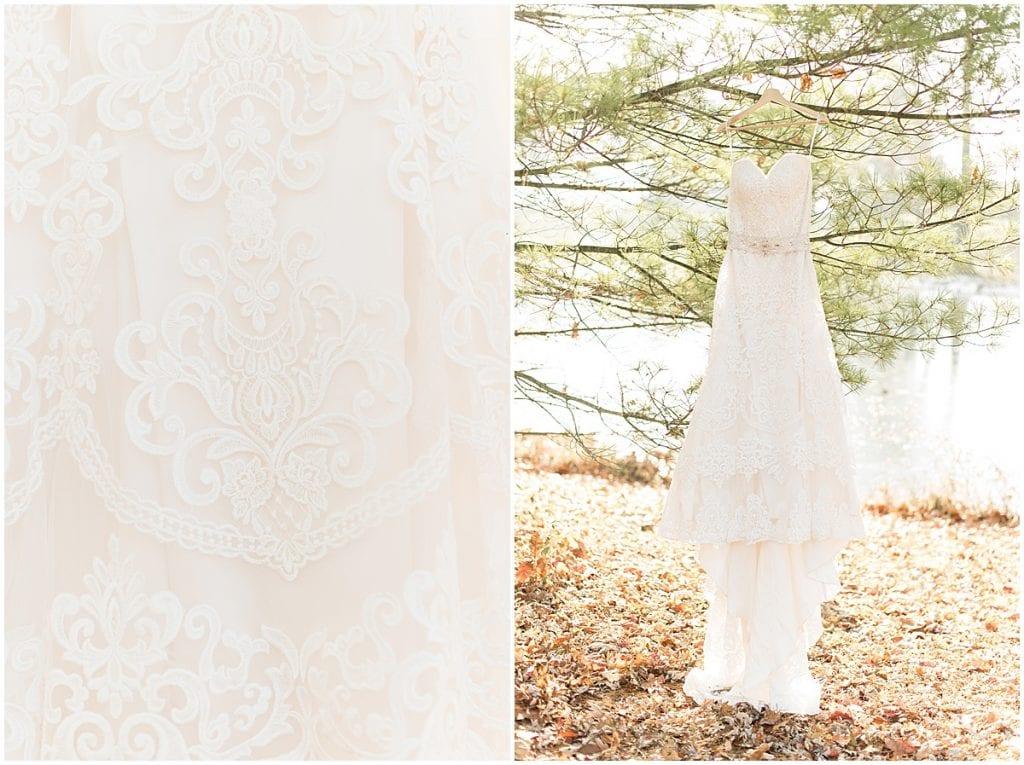 Wedding dress in Frankfort, Indiana