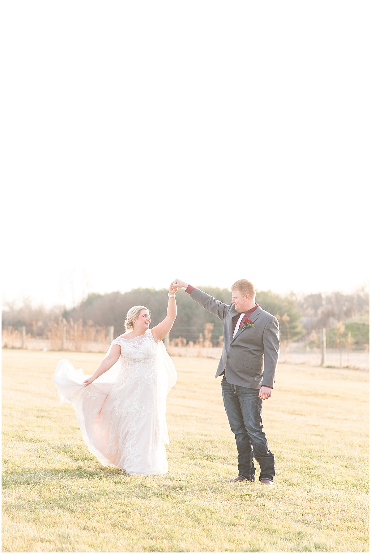 Wedding in Rensselaer, Indiana photographed by Victoria Rayburn Photography