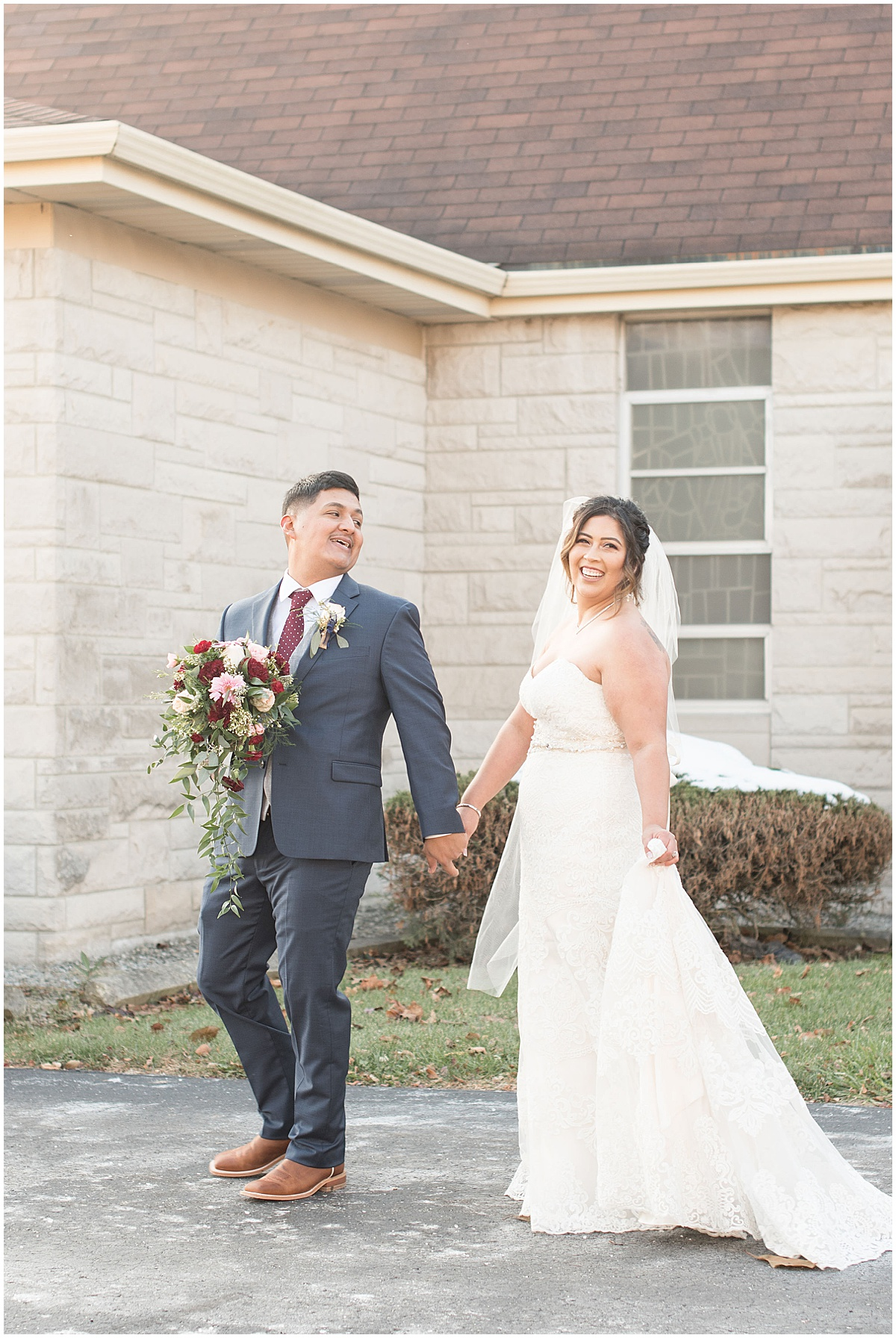 Wedding in Frankfort, Indiana photographed by Victoria Rayburn Photography