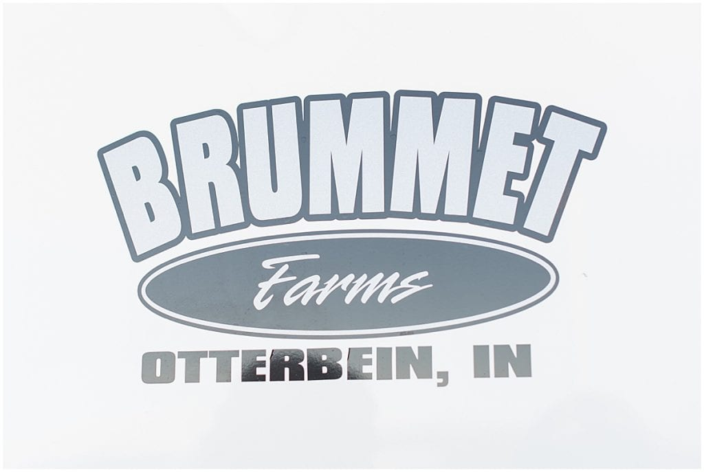 Brummet Farms Semi