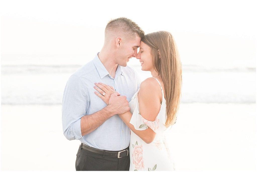 Engagement photos by Lafayette, Indiana wedding photographer Victoria Rayburn
