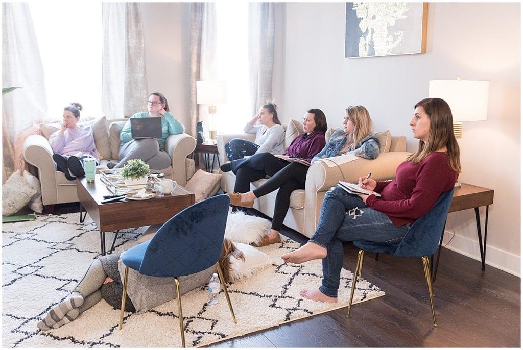 Attendees listening to presentation by Jasmine Norris-Dixson at 2020 In Focus Marketing Summit