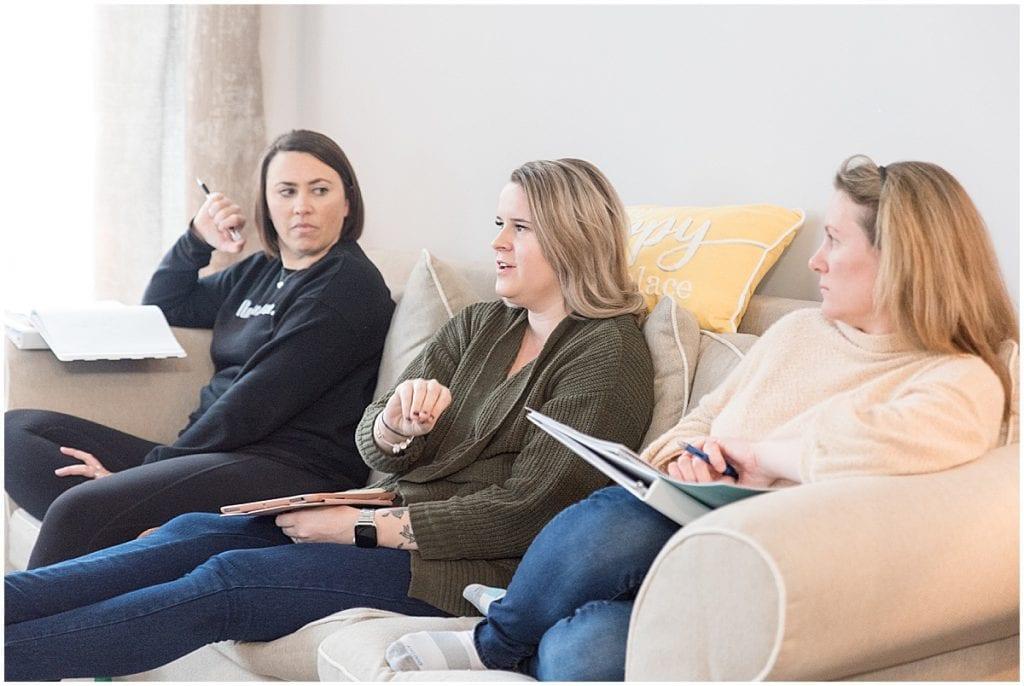 Attendees listening to Jasmine Norris-Dixson present at the 2020 In Focus Marketing Summit