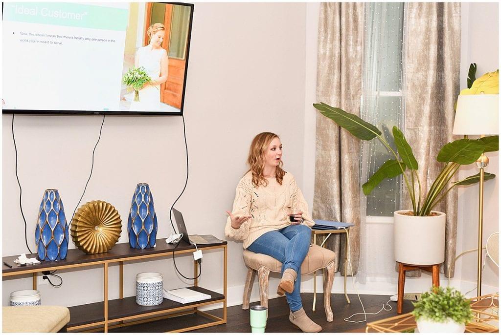 Victoria Rayburn presenting at 2020 In Focus Marketing Summit
