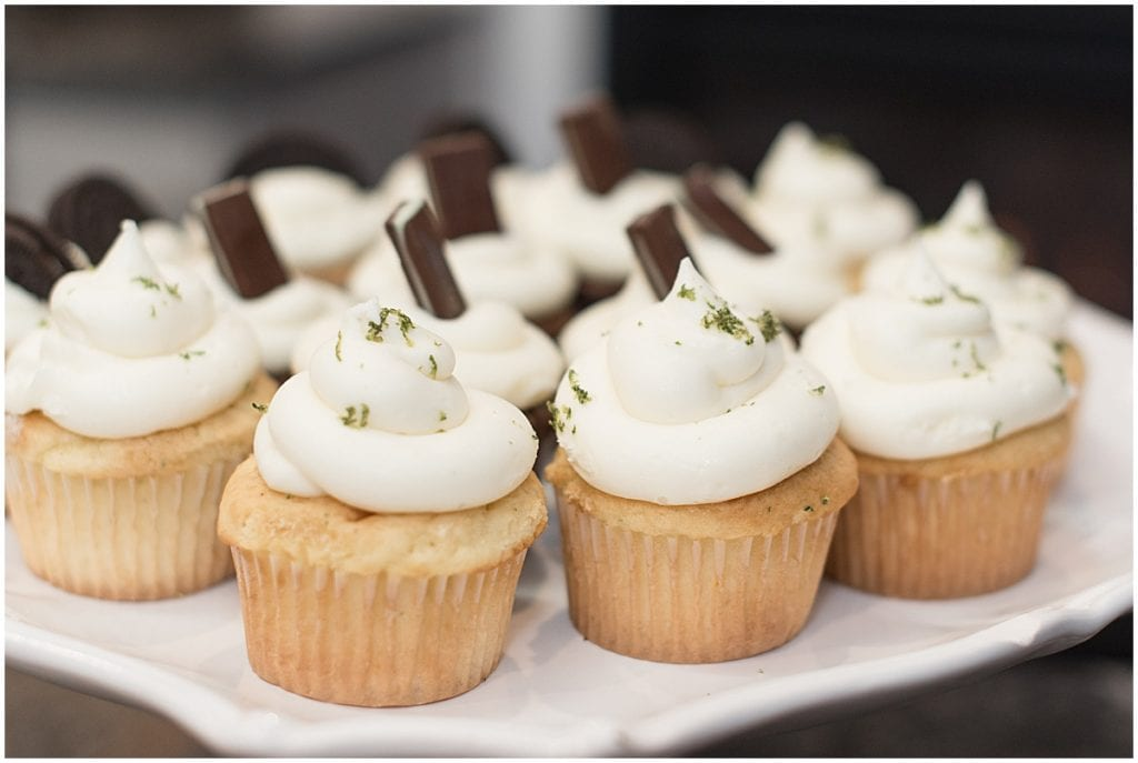Cupcakes by Sassy Sweets Catering for the In Focus Marketing Summit