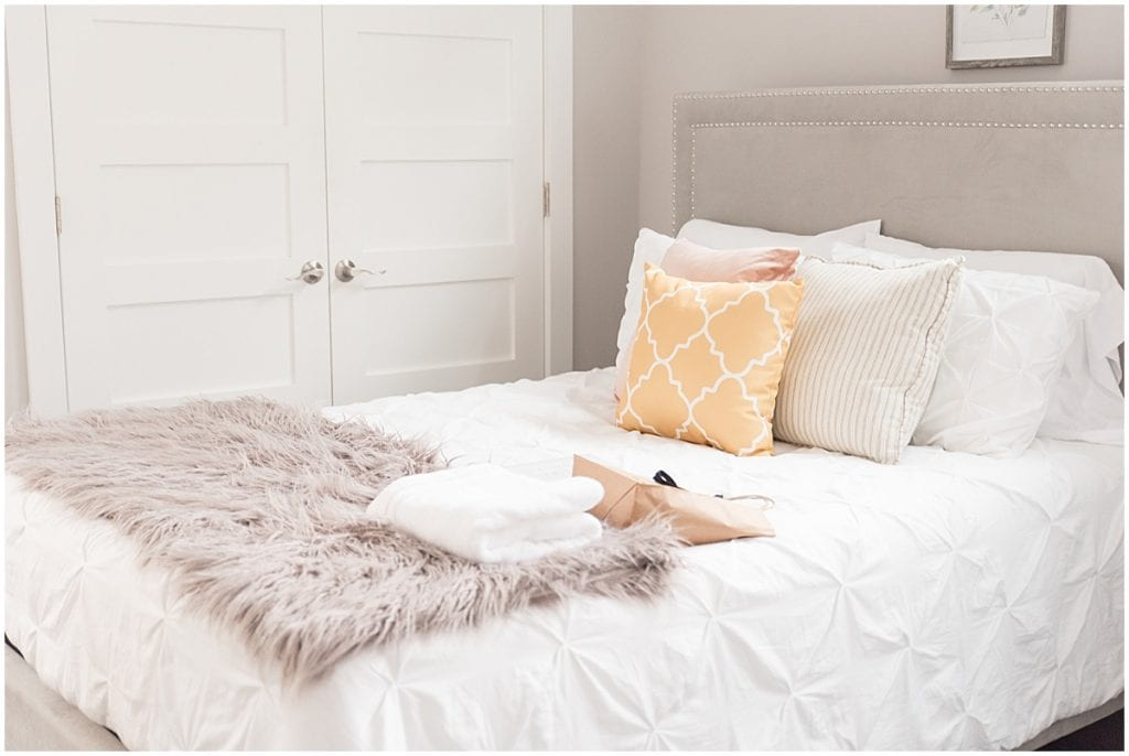 Bedroom of 2020 In Focus Marketing Summit Airbnb in Indianapolis