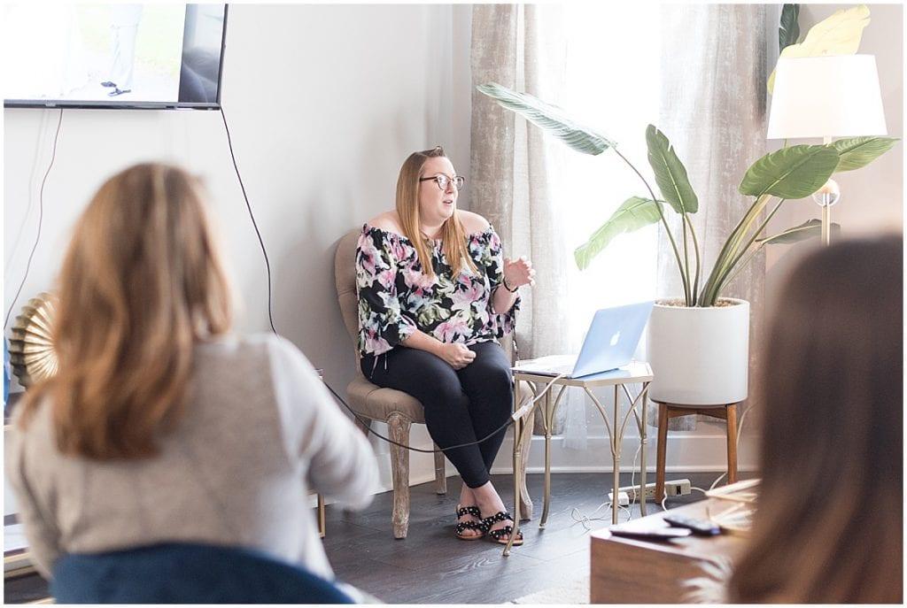 Jasmine Norris-Dixson presenting at 2020 In Focus Marketing Summit