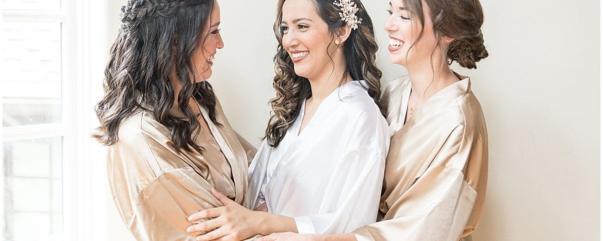 How to Choose the Perfect Hairstyle for Your Wedding Day: Bride & Bridesmaids Getting Ready