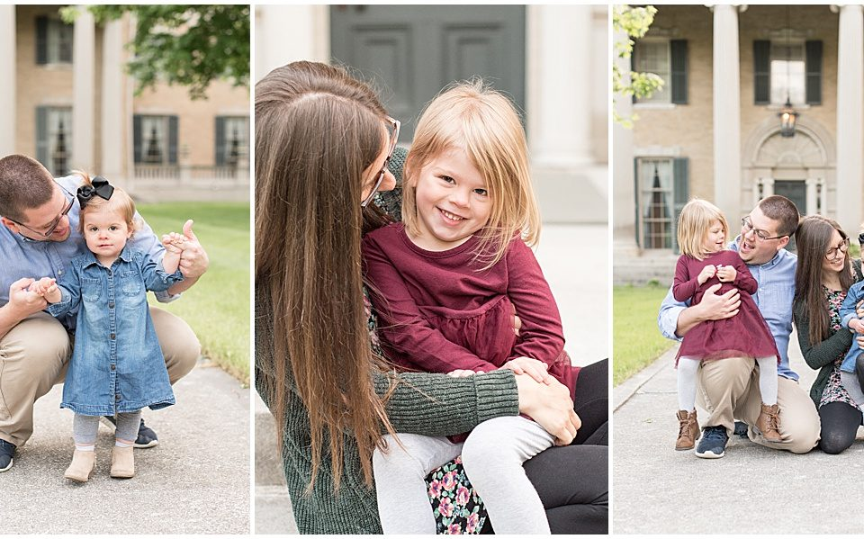 Family Photos at the Haan Mansion in Lafayette, Indiana-8