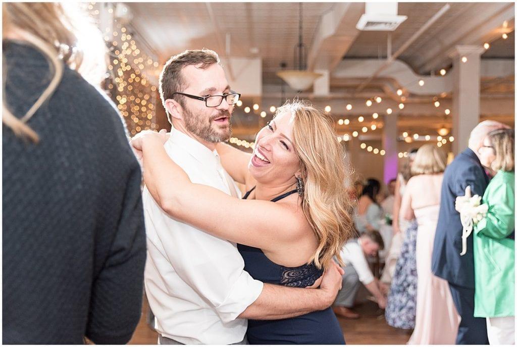 Guests dancing at Rat Pak Venue wedding reception