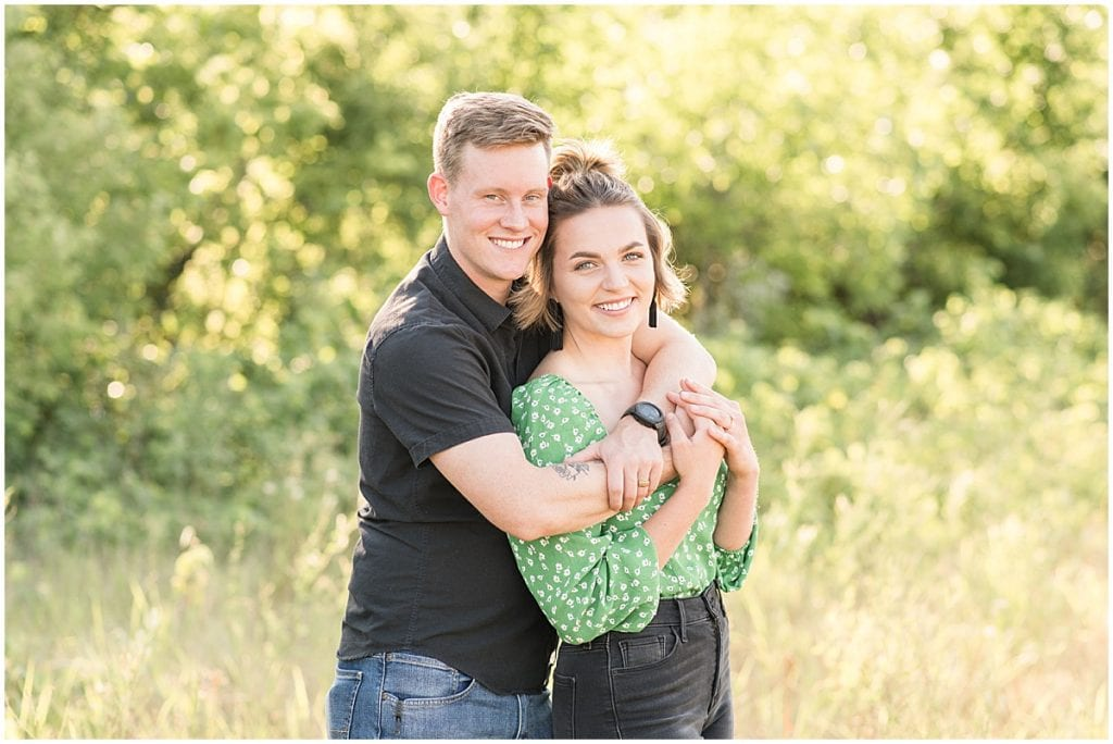 Anniversary photos at Fairfield Lakes Park in Lafayette, Indiana by Victoria Rayburn Photography