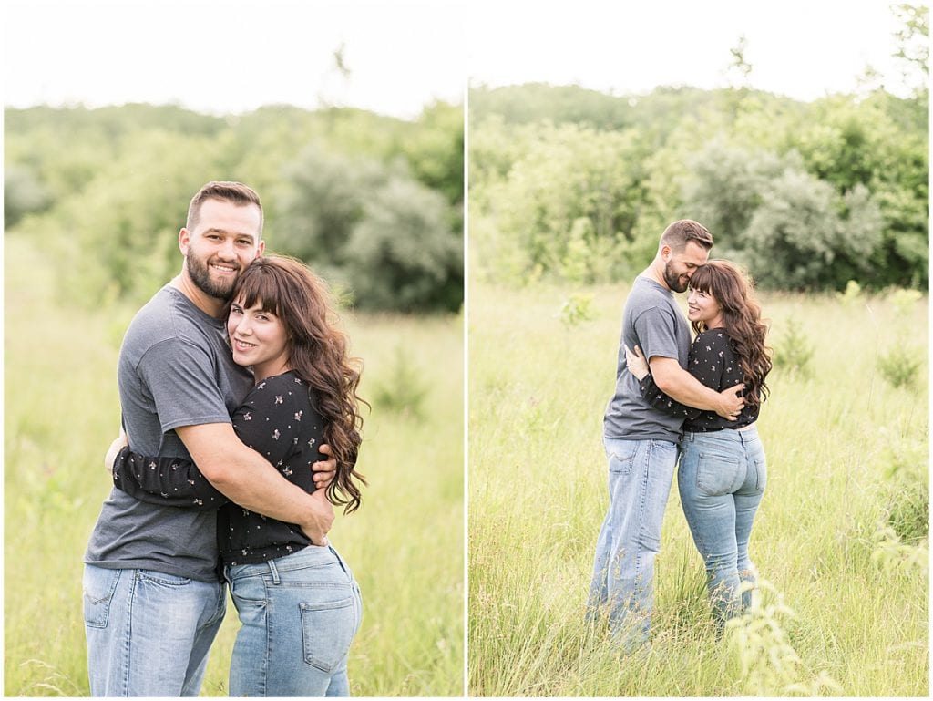 Fairfield Lakes Park engagement photos in Lafayette, Indiana by Victoria Rayburn Photography