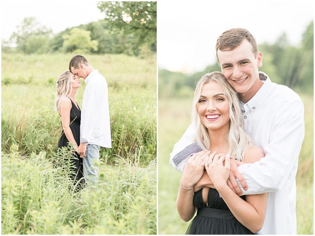 Anniversary photos at the Celery Bog in West Lafayette, Indiana