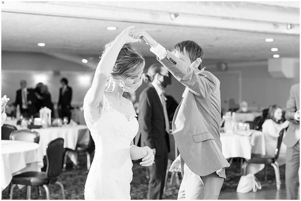Wedding reception at The Matterhorn in Elkhart, Indiana