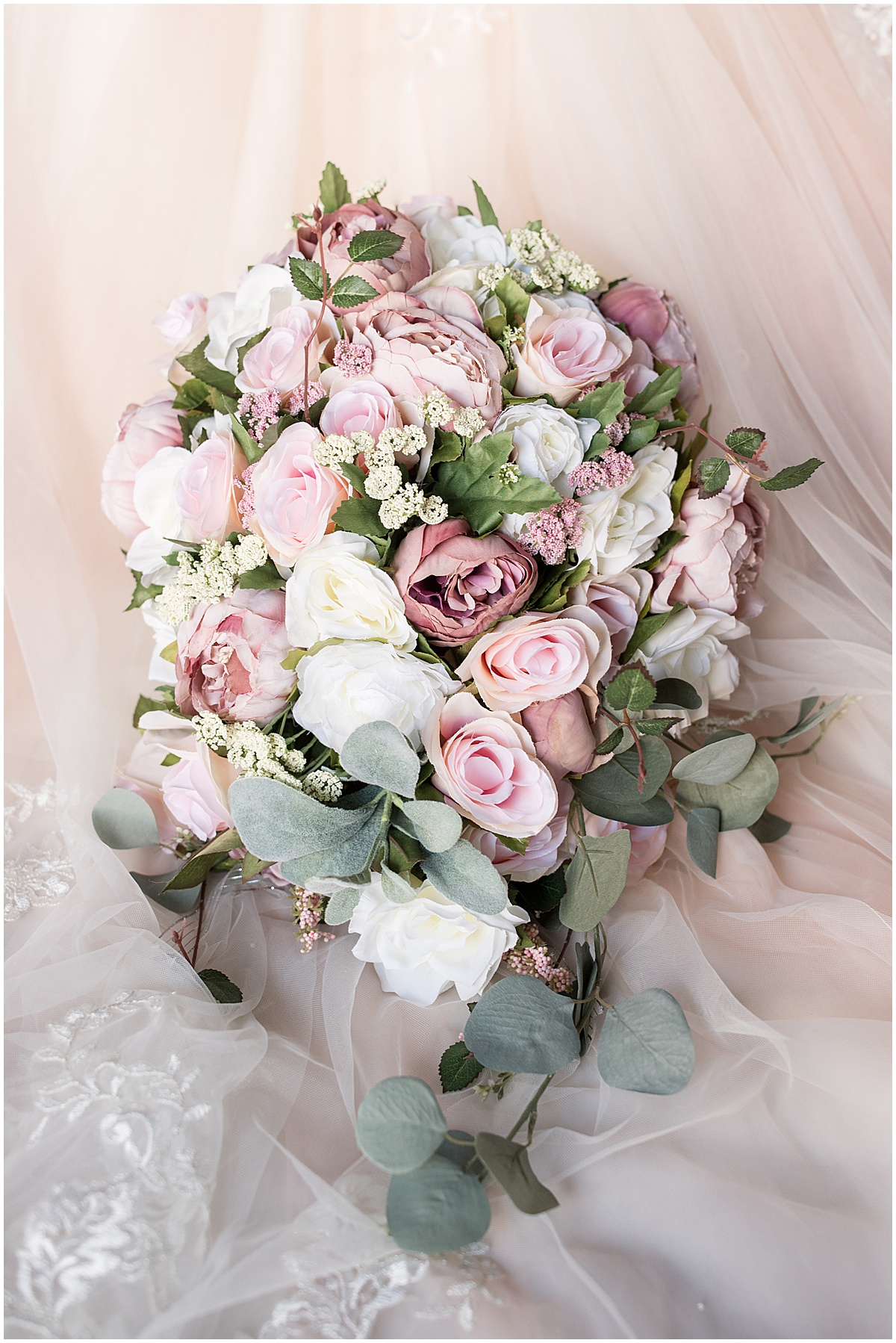 Bouquet for wedding at Wea Creek Orchard in Lafayette, Indiana