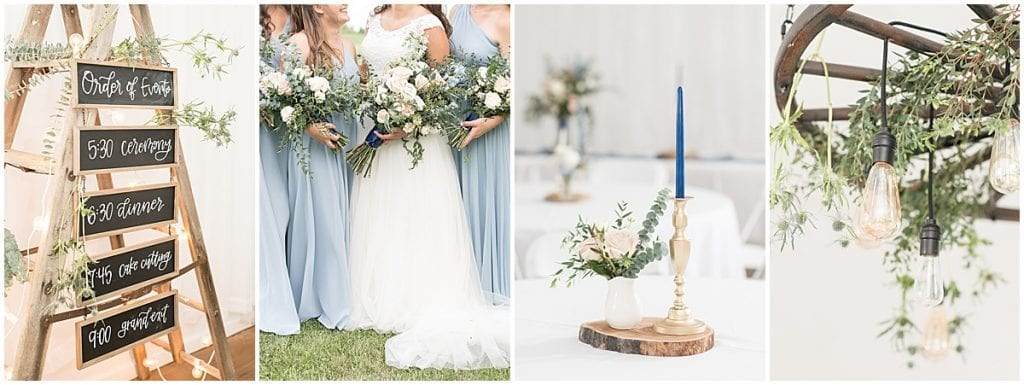 Details from a Wedding at The Blessing Barn in Lafayette, Indiana