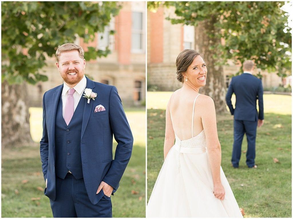 First look at Spohn Ballroom wedding in Goshen, Indiana