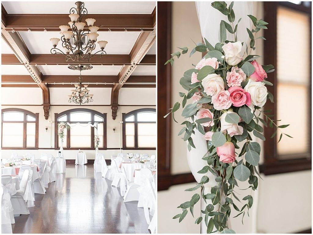 Wedding details at Spohn Ballroom wedding in Goshen, Indiana