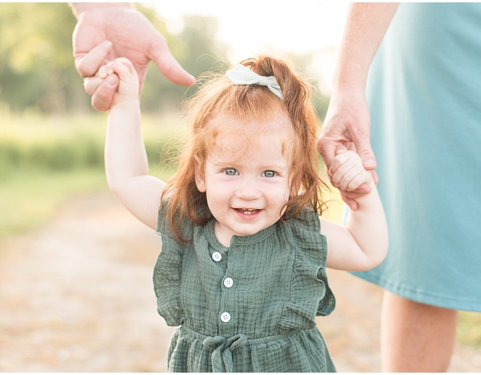 Family photos at the Celery Bog in West Lafayette, Indiana