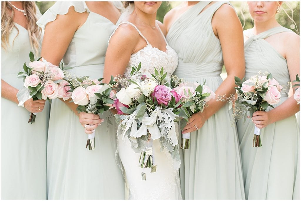Bridal bouquets for Rensselaer, Indiana wedding