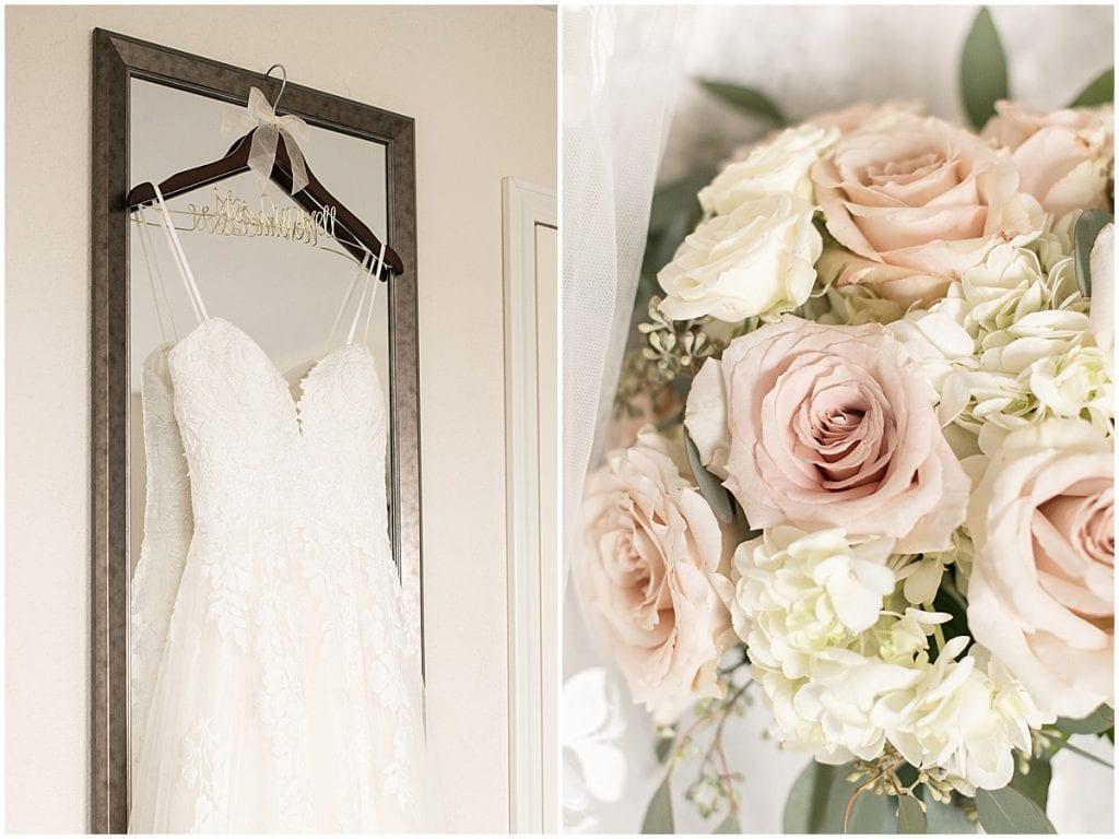 Bridal details for wedding in Cedar Lake, Indiana