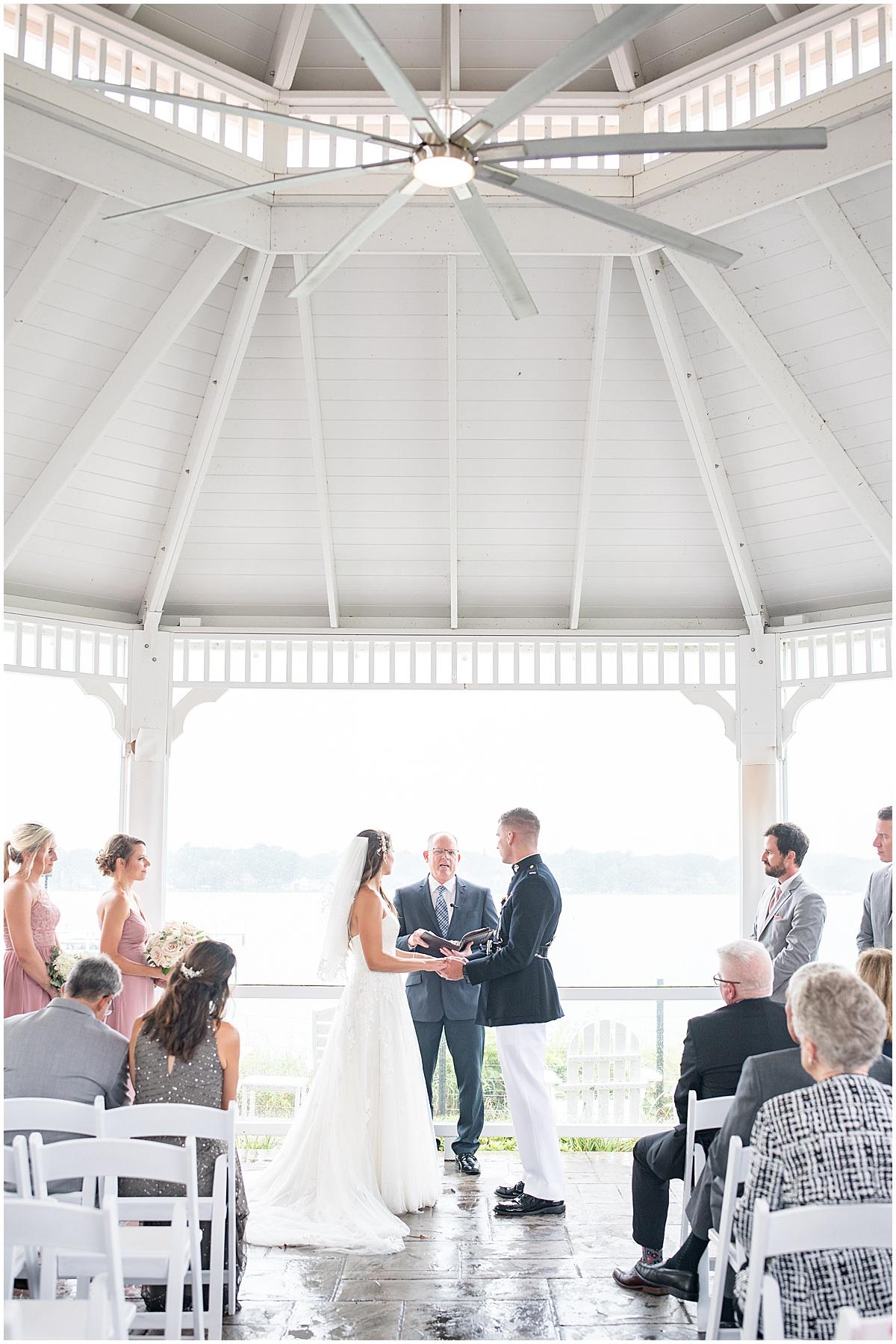 Outdoor wedding venue in Cedar Lake, Indiana