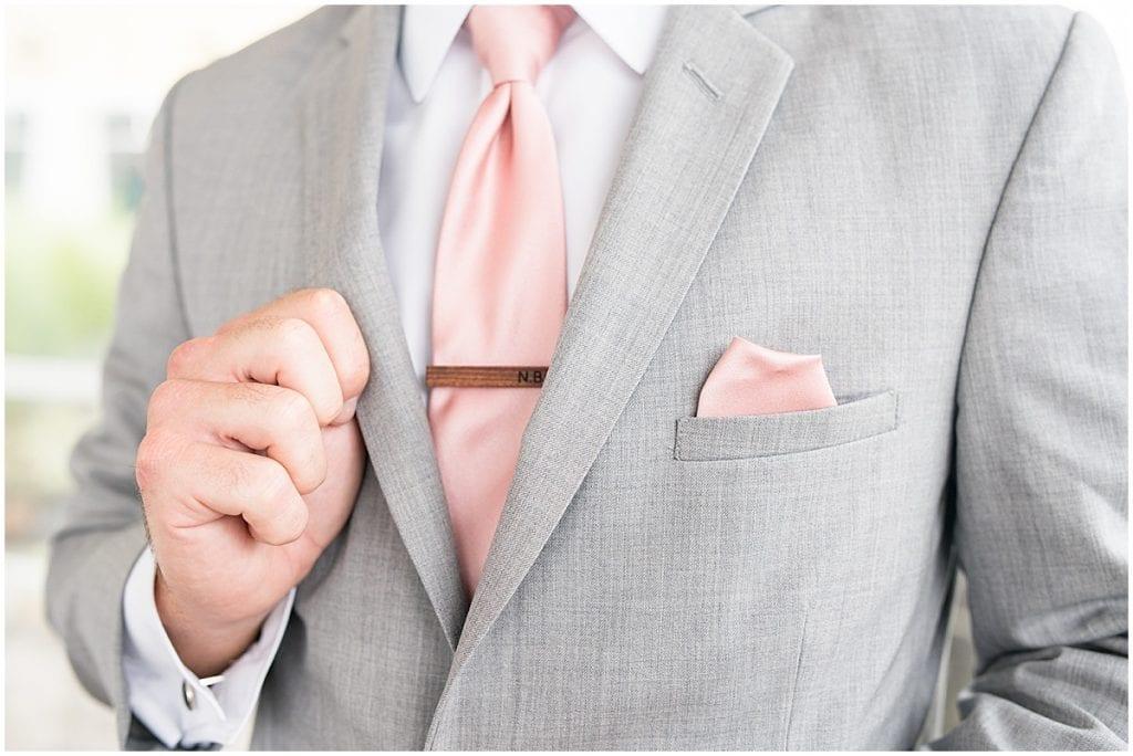 Groomsmen details for wedding at the Lighthouse Restaurant