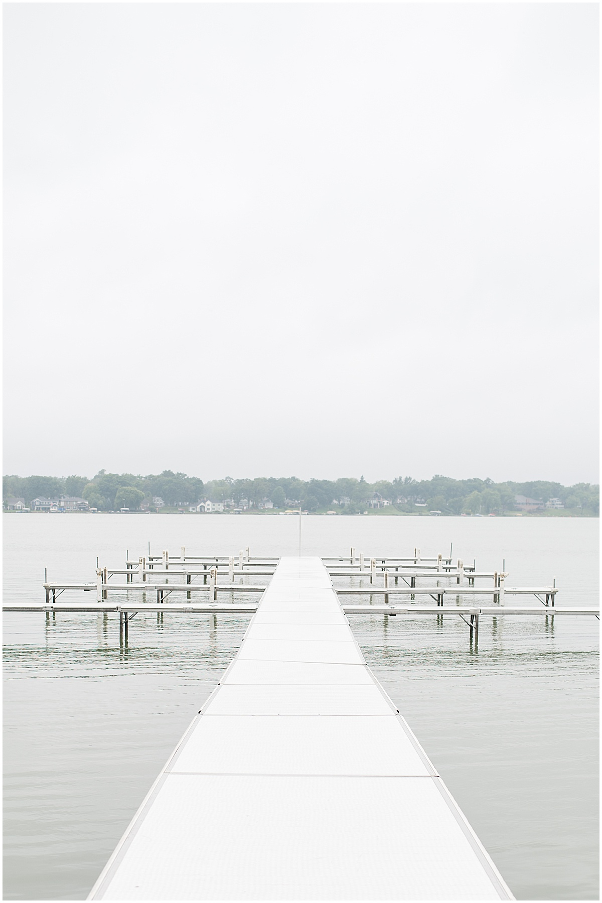 Pier at the Lighthouse Restaurant in Cedar Lake, Indiana