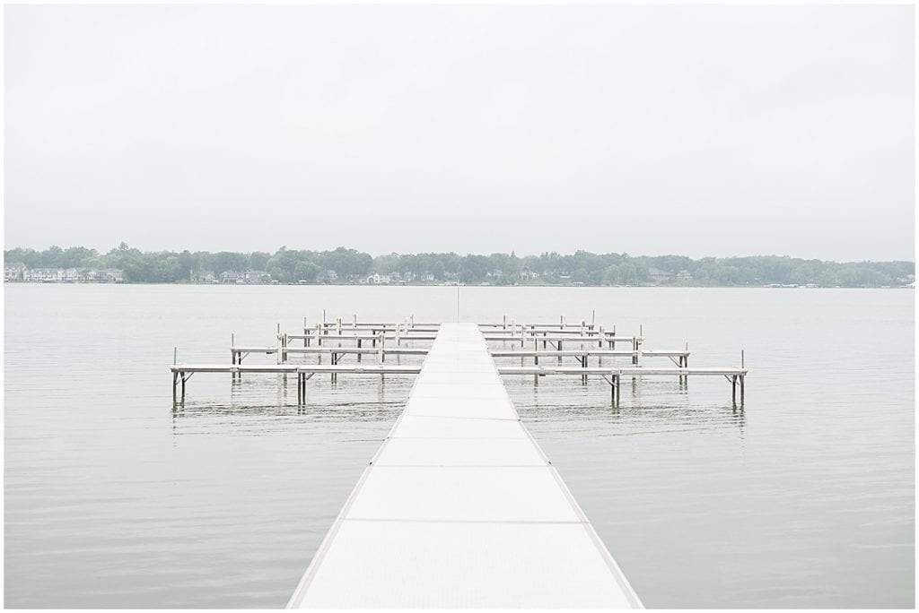 Location details for wedding at the Lighthouse Restaurant in Cedar Lake, Indiana