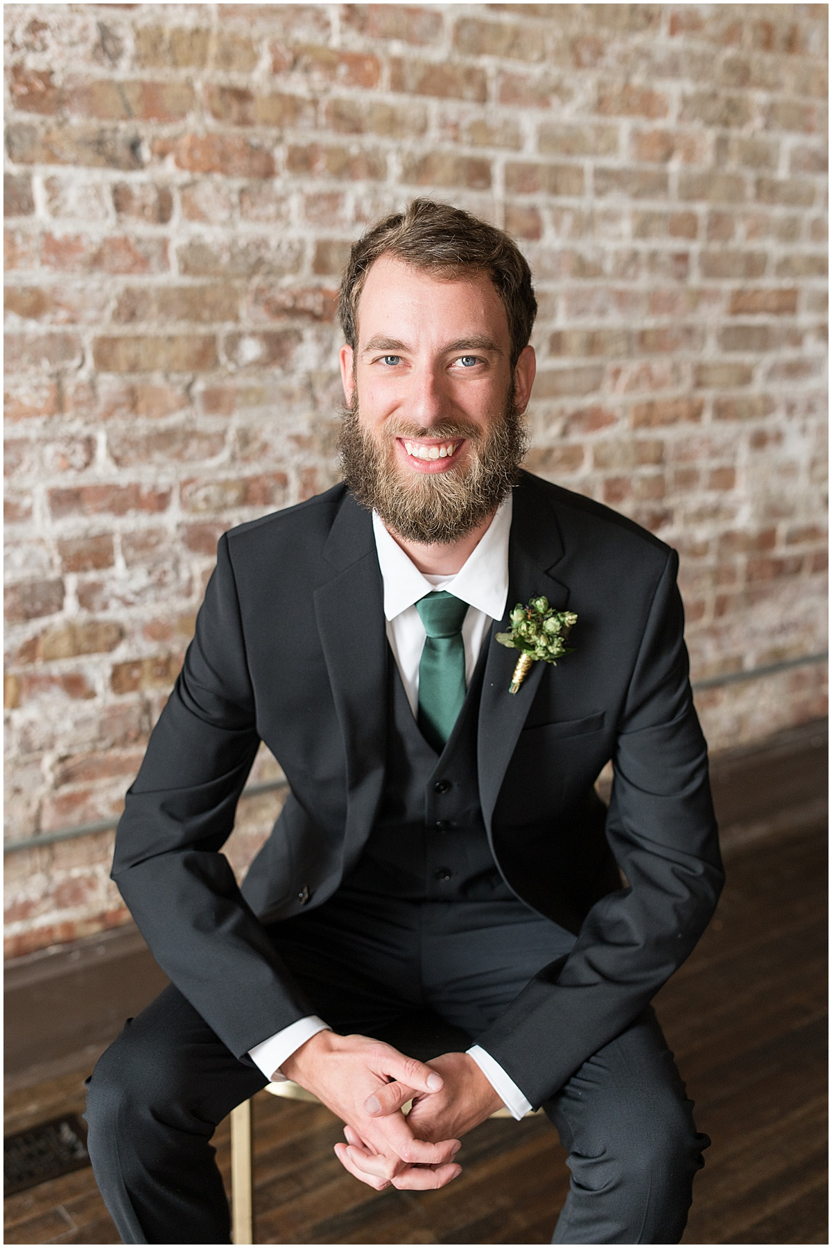 Groom portraits at eMbers Venue