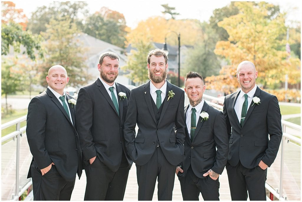 Groomsmen ready for eMbers Venue wedding