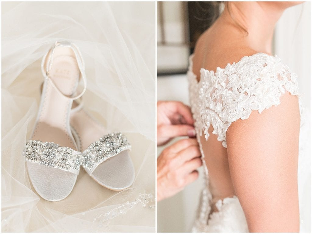 Bridal details of Bel Air Events wedding in Kokomo, Indiana by Victoria Rayburn Photography