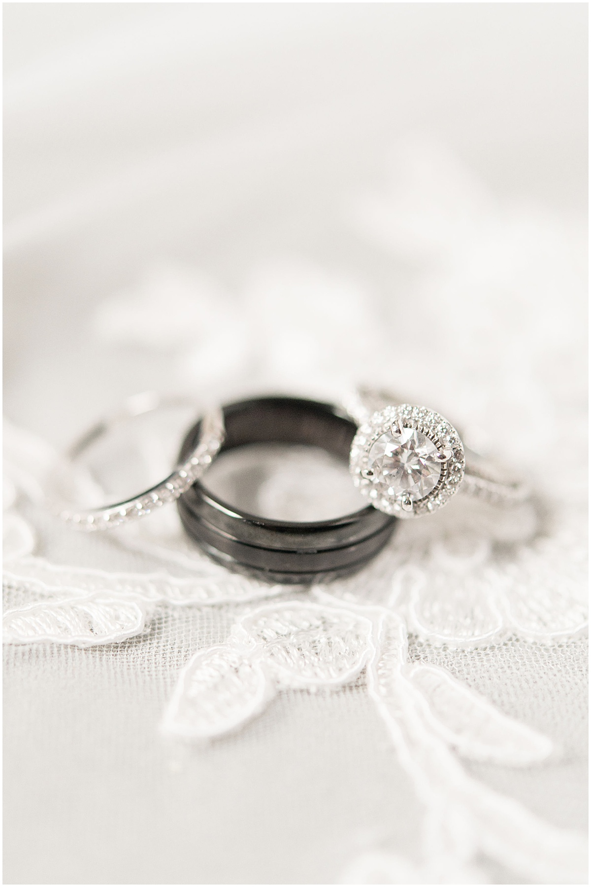 Wedding details for wedding at The Lighthouse Restaurant in Cedar Lake, Indiana by Victoria Rayburn Photography
