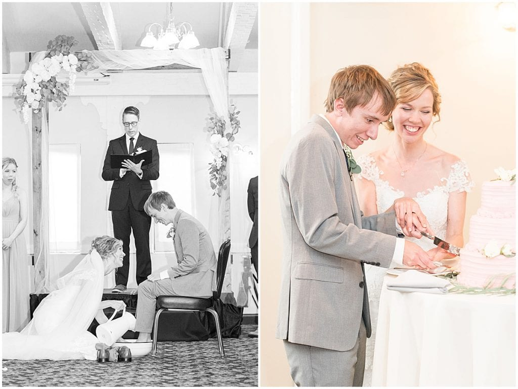 wedding at The Matterhorn in Elkhart, Indiana by Victoria Rayburn Photography