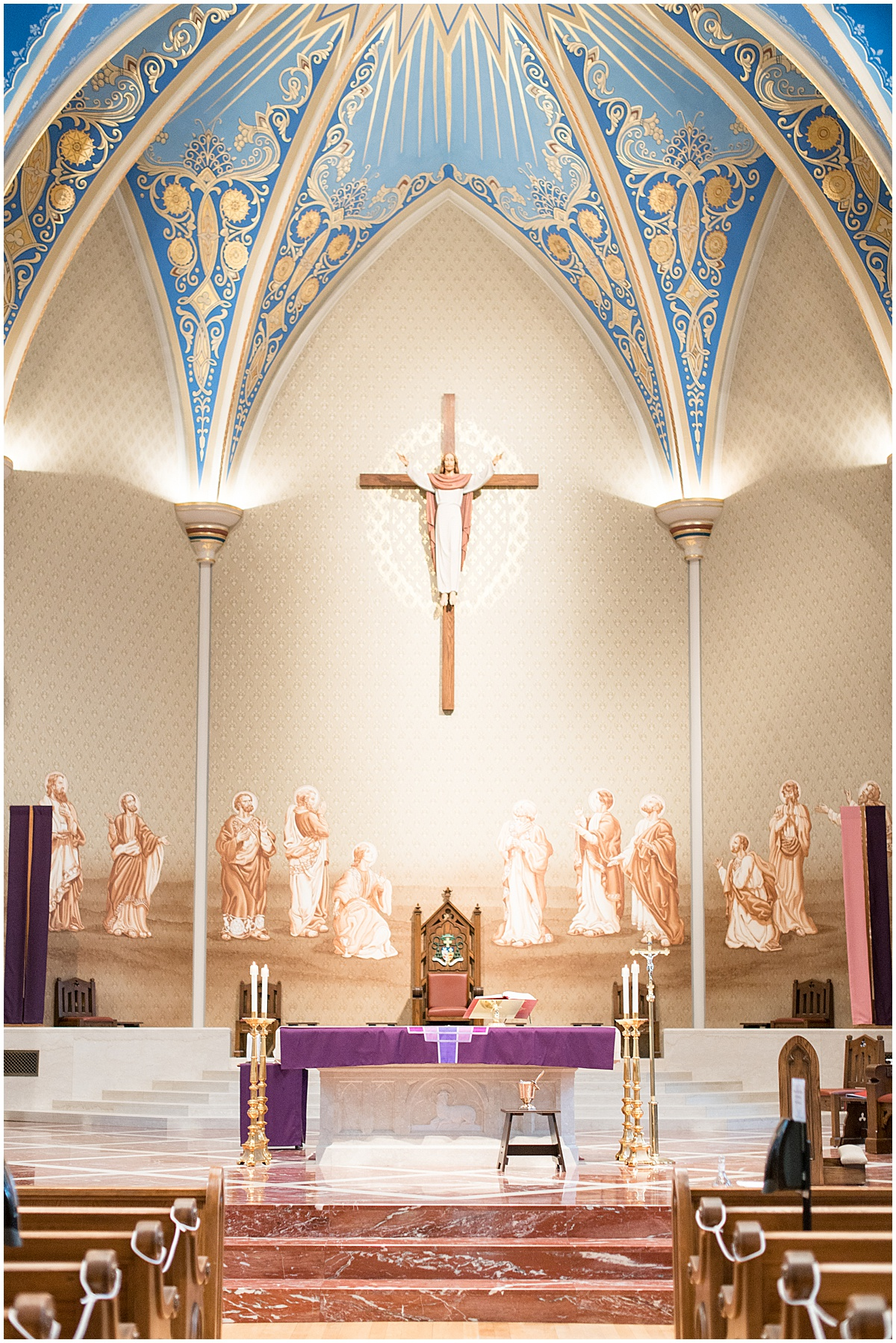 Cathedral of Saint Mary of the Immaculate Conception in Lafayette, Indiana