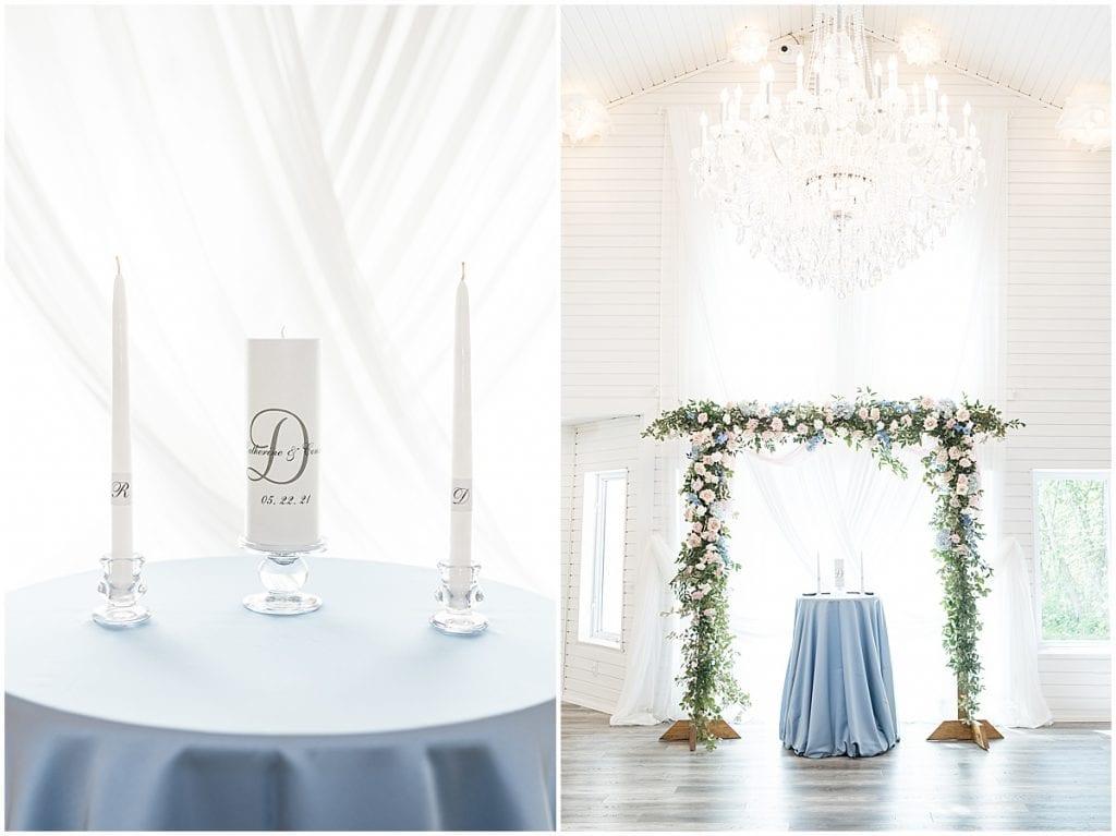 Wedding details at Lizton Lodge Wedding in Lizton, Indiana