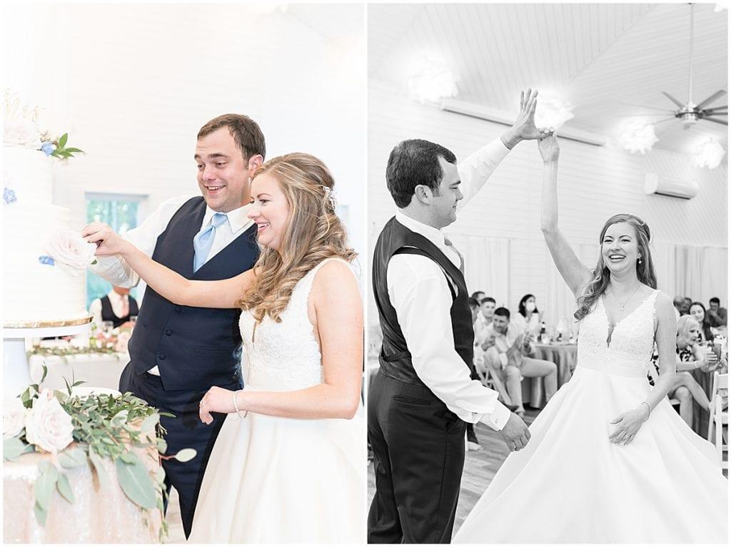 Reception for Lizton Lodge Wedding in Lizton, Indiana
