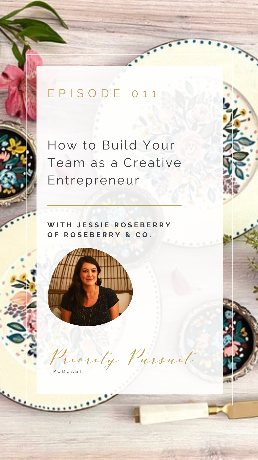 West Lafayette, Indiana Watercolor Artist Jessie Roseberry of Roseberry & Co. explains how to build your team as a creative entrepreneur.