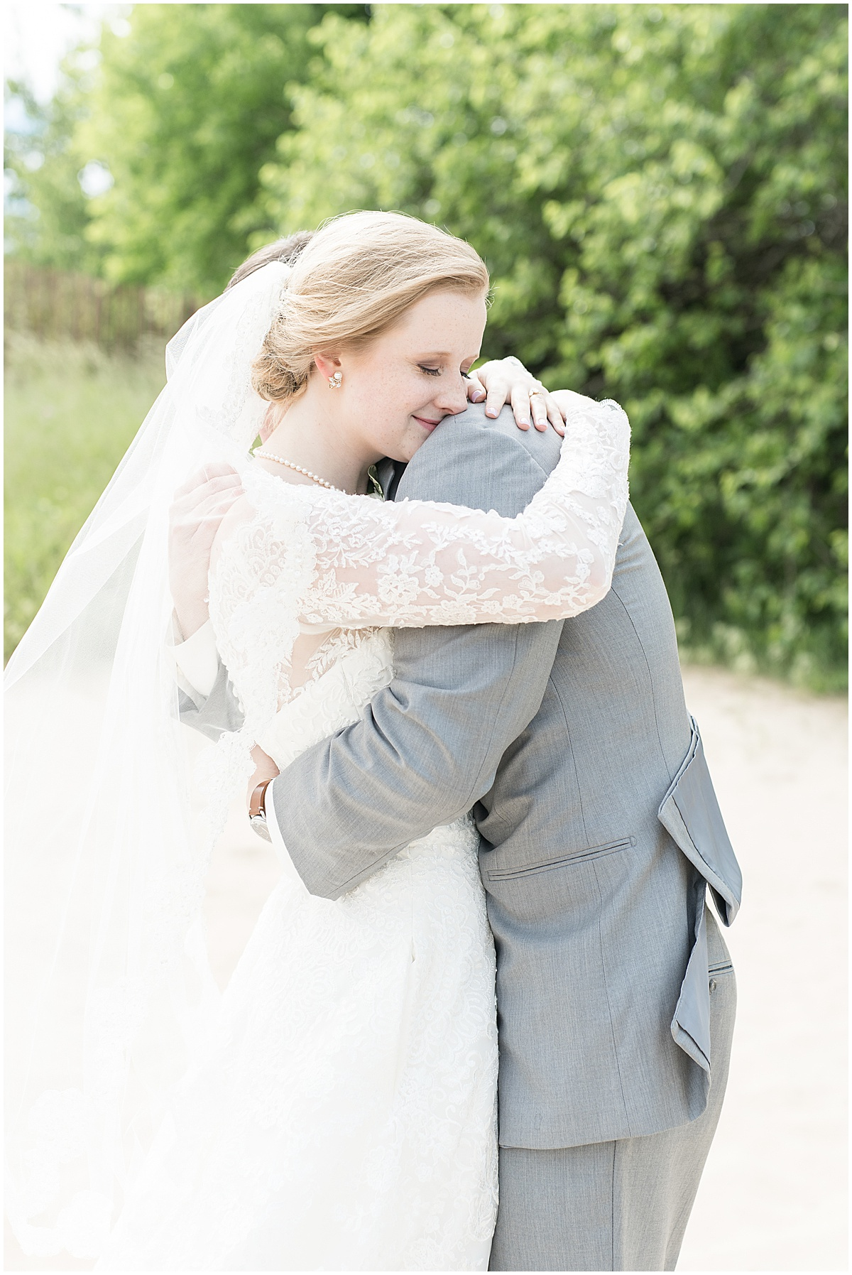 Bride and groom photos at Traders Point Creamery wedding in Zionsville, Indiana