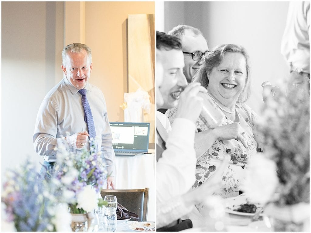 Reception photos at Traders Point Creamery wedding in Zionsville, Indiana