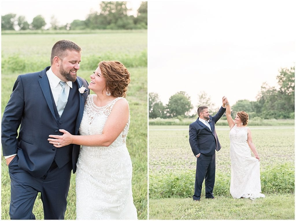 Bride and groom portraits at a Brandywine in Monticello Indiana, Wedding at The Brandywine in Monticello Indiana, Brandywine Wedding in Monticello Indiana, Wedding in Monticello Indiana, Wedding Venue in Monticello Indiana
